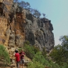 Climbing in the Werribee Gorge